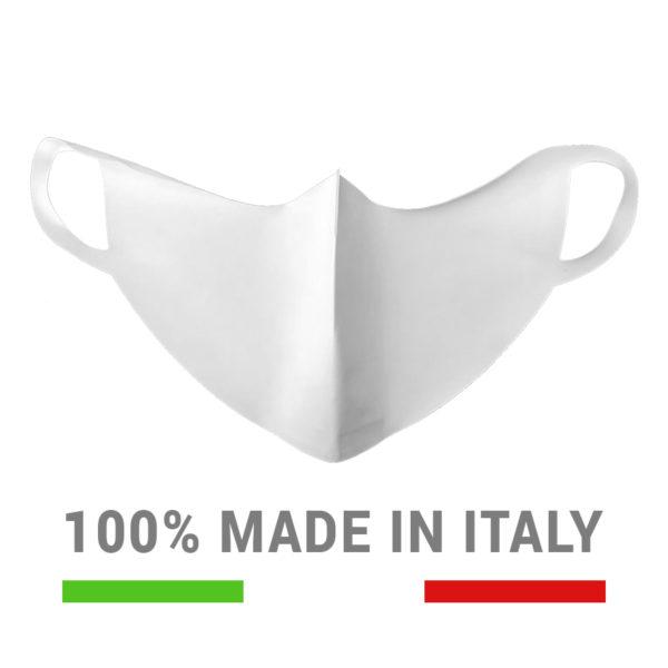 Mascherina impermeabile lavabile e riutilizzabile - 100% made in Italy