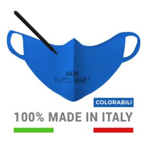 Mascherine Italiane - Mascherine italiane per bambini colorabili impermeabili lavabili e riutilizzabili - made in Abruzzo! https://www.mascherineitaliane.it - Baldo Promotion - https://www.baldopromotion.it